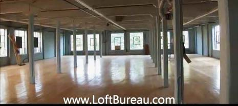 loft style office. beautifull loft style office space with windows on 3 sides