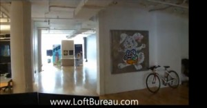 downtown Montreal loft style office space for lease